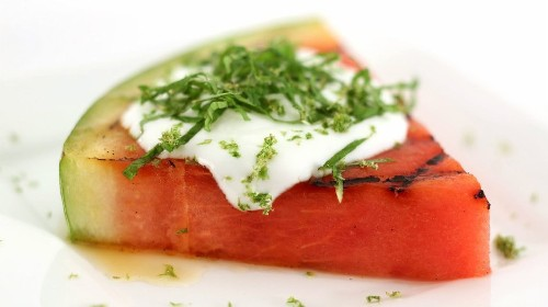 Watermelon on the grill? It makes a great dessert - Los Angeles Times