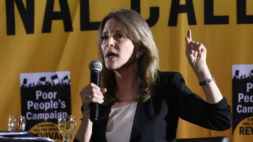 2020 hopeful Marianne Williamson apologizes for calling vaccine mandates 'draconian' and 'Orwellian'