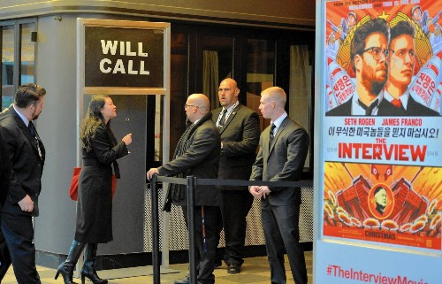 Some theaters drop 'The Interview' amid Sony hacker threats