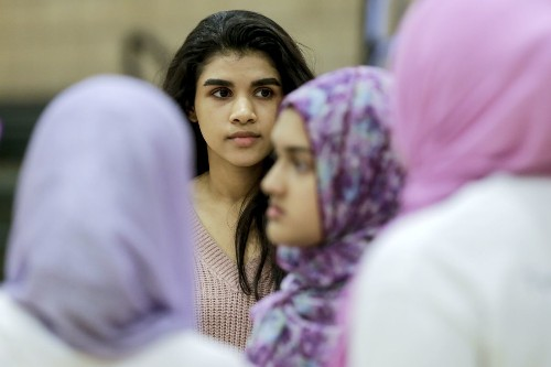 This Muslim teen has her own way to protest the election — winning robotics competitions - Los Angeles Times