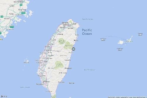 Magnitude 6.1 earthquake strikes near Hualien, Taiwan
