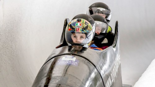 At 70 mph, all was a blur, except the pain. Bobsledding in Norway? A blast. Really