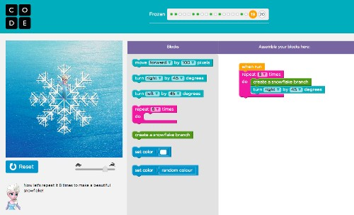 'Frozen's' Anna and Elsa part of latest campaign to get girls to code - Los Angeles Times