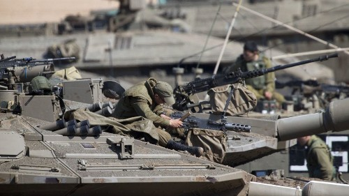 Israeli prime minister consults with military after Gaza violence