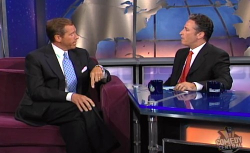 Sad ironies when Brian Williams met Jon Stewart on 'The Daily Show' - Los Angeles Times