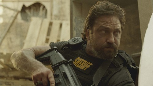 Gerard Butler stars in the clever crime noir 'Den of Thieves'