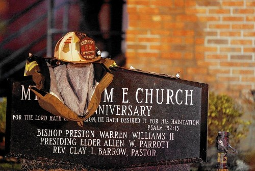 Black church fires raise fears; crime data suggest blazes are not unusual