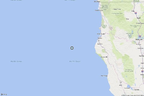 Earthquake: 3.4 quake strikes near Capetown, Calif.