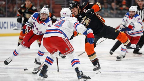 What we learned from the Ducks' shootout loss to the New York Rangers - Los Angeles Times