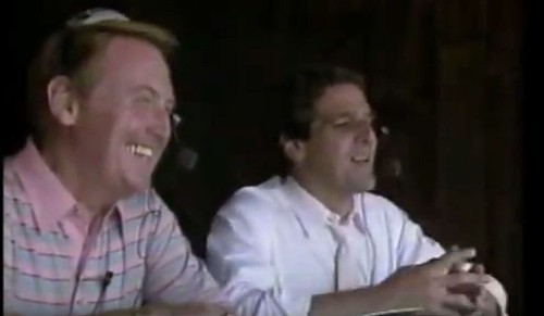 The day Glenn Frey played sports broadcaster with Dodgers' Vin Scully