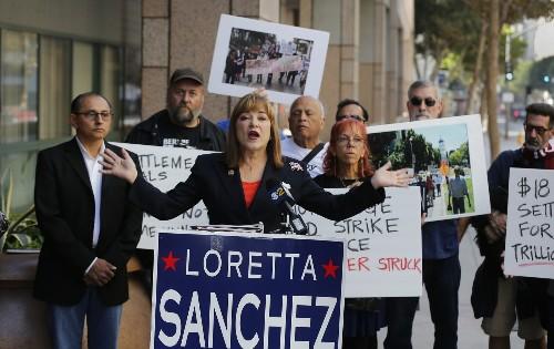 California's U.S. Senate race is slipping away from Loretta Sanchez - Los Angeles Times