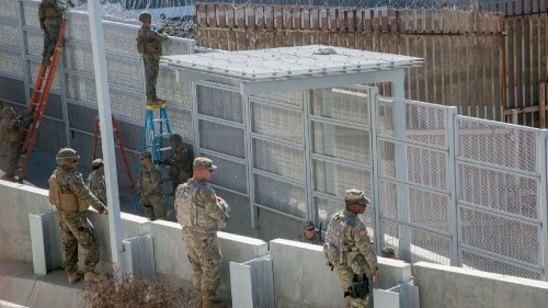 Pentagon discloses military projects in California that it could tap for Trump's wall