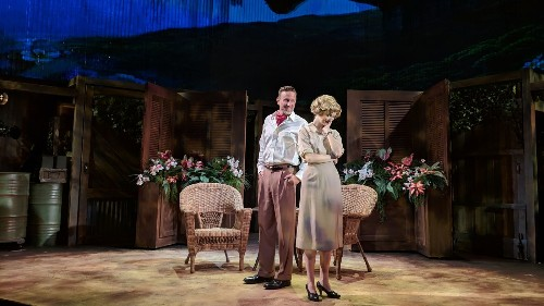 Review: In this small-stage 'South Pacific,' romance and racial prejudice still float to the surface - Los Angeles Times