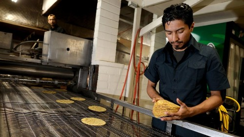 A fast-growing East L.A. tortilla business started with two high school friends