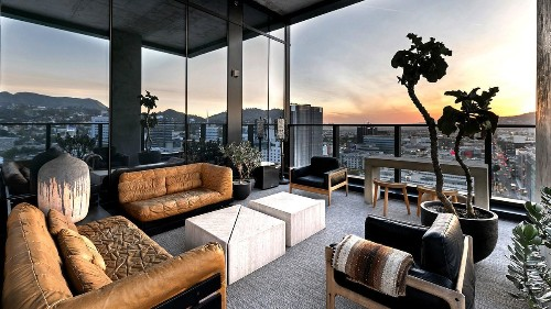 Home of the Week: A Columbia Square penthouse dressed to the nines