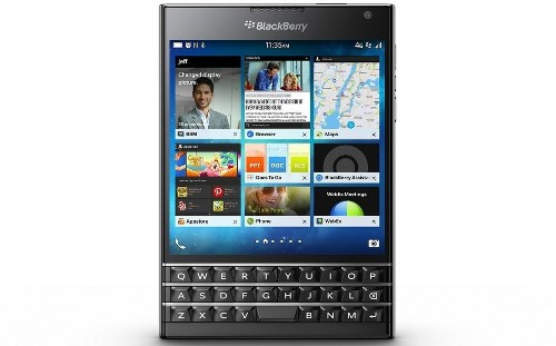 BlackBerry launches Passport, its new square smartphone - Los Angeles Times