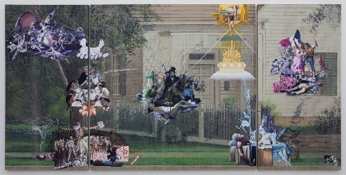 Review: Jim Shaw's juxtapositions keep viewers guessing - Los Angeles Times