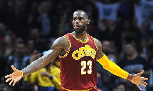All eyes and a lot of pressure are on LeBron James as Cavaliers begin their NBA title quest - Los Angeles Times