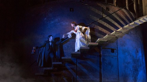 A darker, grittier 'Phantom of the Opera' haunting Pantages - Los Angeles Times