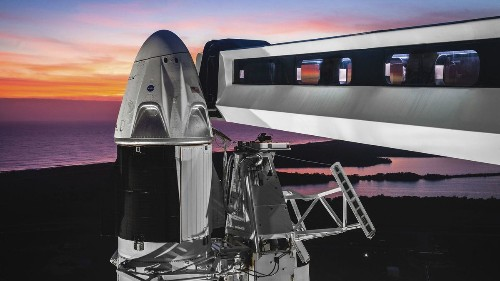SpaceX plans a test flight of its astronaut capsule next week — but without astronauts