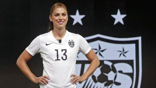 Alex Morgan to miss World Cup warmups because of knee injury
