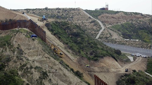 Federal judge in California halts plan to build parts of Trump's border wall