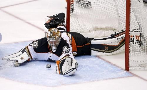 Ducks' goalie Frederik Andersen feels more prepared for these playoffs