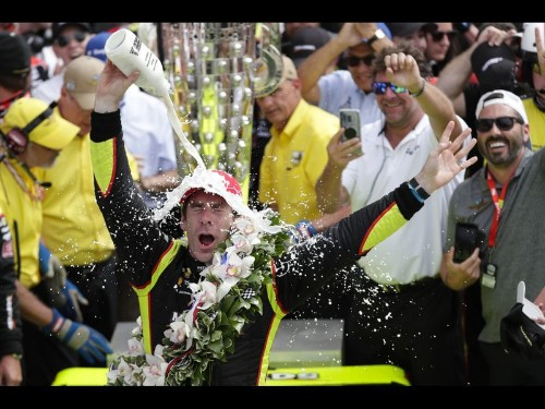 Simon Pagenaud wins Indianapolis 500 in a thrilling finish
