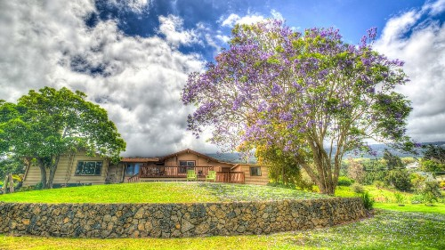 On Maui, a new bed and breakfast takes you to the quiet life on the slopes of Haleakala volcano