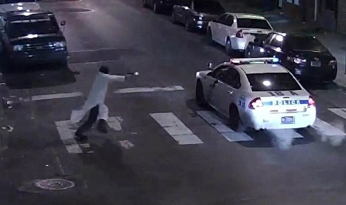 Suspect in shooting of Philadelphia policeman pledged allegiance to Islamic State, officials say