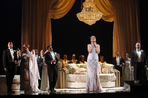 Review: L.A. Opera brings back its '20s take on 'Traviata,' and the singing shimmers