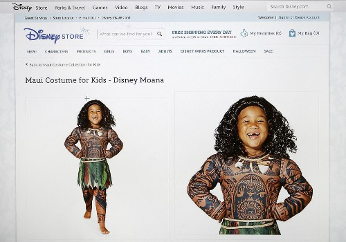 Disney pulls 'Moana' costumes for children amid cultural appropriation uproar
