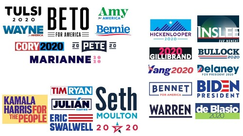 What's in a name? When you're running for president, a lot