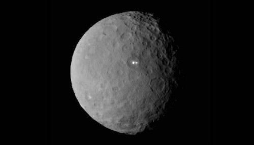 At Ceres, NASA's Dawn spacecraft reemerging into the light