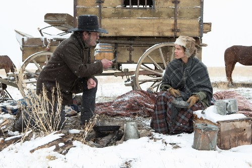 Harsh land and raw, maddening emotion test 'The Homesman'