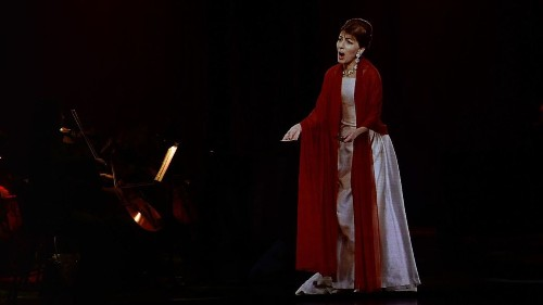 With 'Callas in Concert,' an opera diva makes a holographic encore