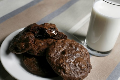What to eat with the curtains closed: Milk's ooey-gooey chocolate cookies