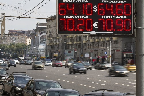 Russia's economy shrinks by 4.6% on low oil prices, sanctions - Los Angeles Times