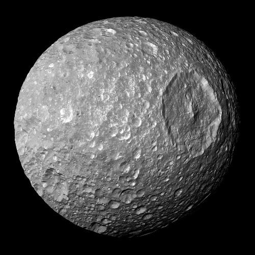 Mimas, Saturn's 'Death Star' moon, could harbor a secret ocean