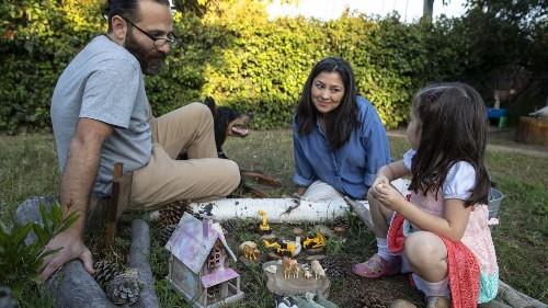I am raising my daughter to speak three languages. A stranger demanded I 'speak English' to her