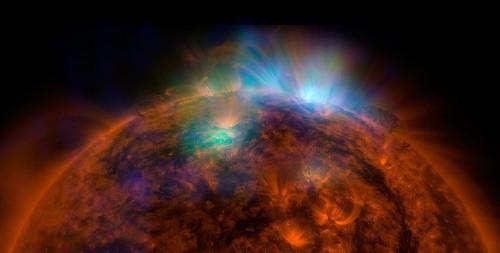 Dazzling! NuSTAR captures sun's portrait in solar X-rays