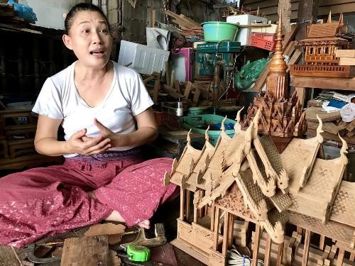 The spirit houses of Bangkok keep watch over a frenetic modern Thai city