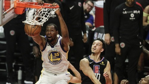 Kevin Durant could end up being a Clipper