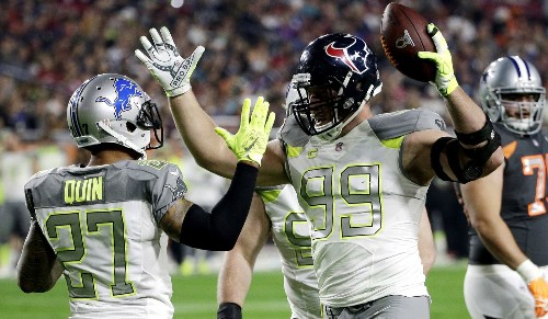 J.J. Watt is the biggest star in Pro Bowl