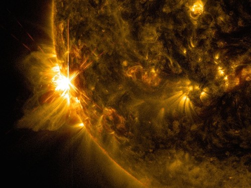 Two X-class solar flares in less than 2 hours, and more may come soon