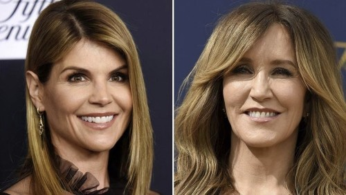 Videos of Lori Loughlin and Felicity Huffman become legal battleground in college admissions scandal