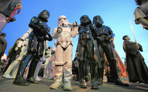 How a faceless force of Stormtroopers and the 501st Legion do good - Los Angeles Times