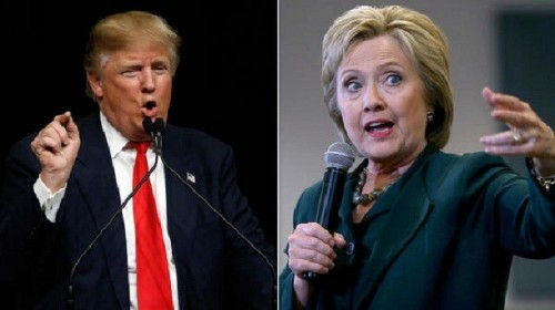 A Trump-Clinton general election poses a question: Which one does America hate less? - Los Angeles Times