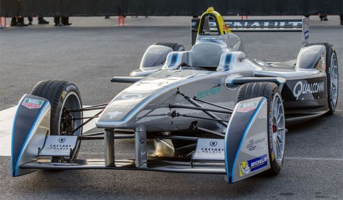 Formula E electric-car racing series attracts eight more drivers - Los Angeles Times