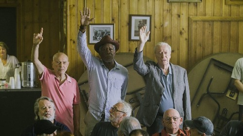 Screen treasures Alan Arkin, Michael Caine and Morgan Freeman can't overcome the implausible in 'Going in Style'